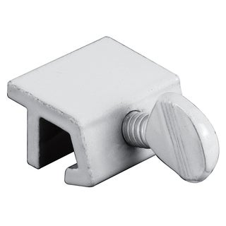 "Prime Line U9823 1"" White Extruded Aluminum Sliding Window Lock 4-count"