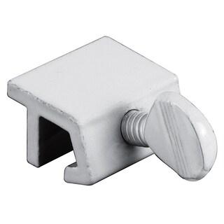 """Prime Line U9823 1"""" White Extruded Aluminum Sliding Window Lock 4-count"""