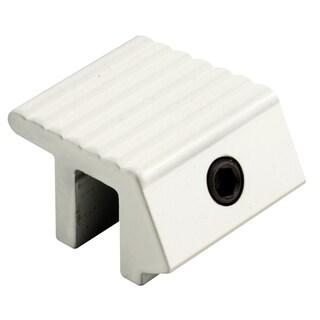 """Prime Line U9812 1"""" White Aluminum Tamper-Resistant Lock 2-count"""
