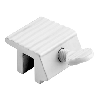 Prime Line U9802 White Sliding Window Lock