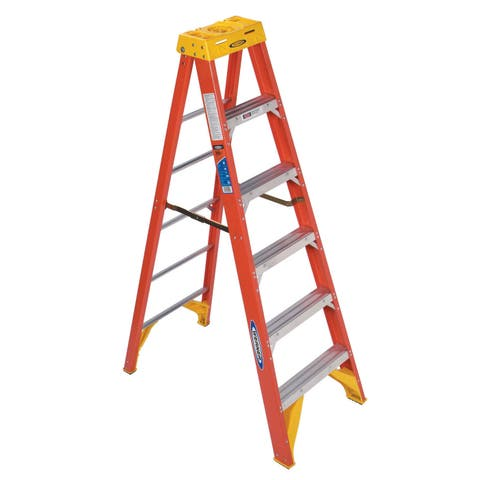 Werner 6206 6' Fiberglass Step Ladder