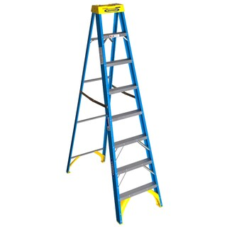 Werner 6008 8' Fiberglass Step Ladder