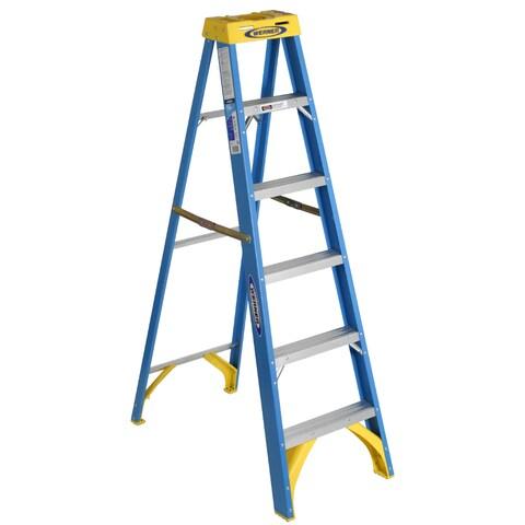 Werner 6006 6' Fiberglass Step Ladder