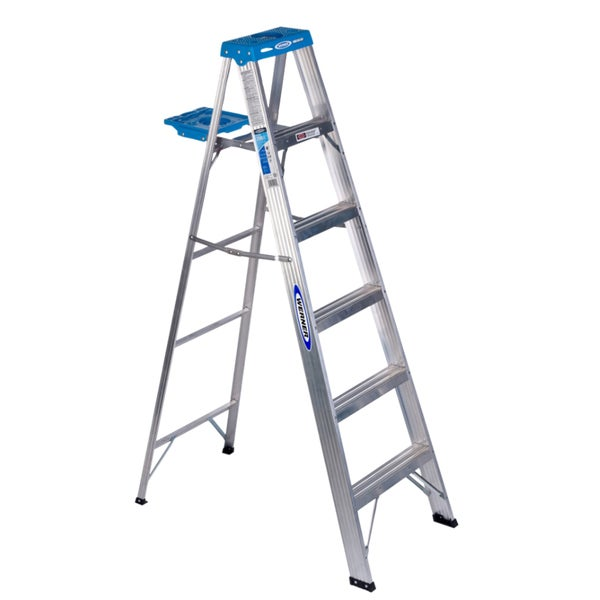 Werner 366 6' Aluminum Step Ladder