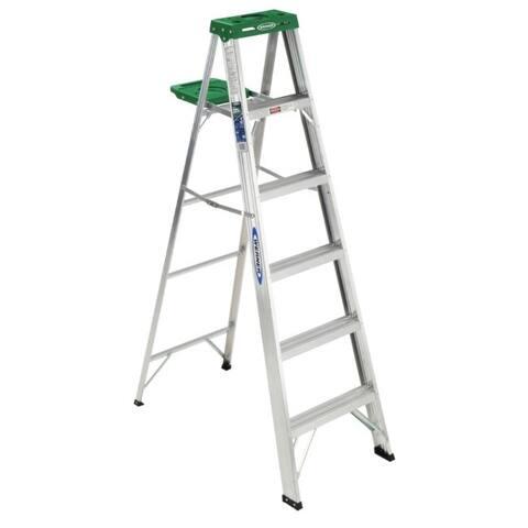 Werner 356 6' Aluminum Step Ladder