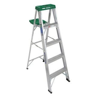 Werner 355 5' Aluminum Step Ladder|https://ak1.ostkcdn.com/images/products/12501322/P19309372.jpg?impolicy=medium