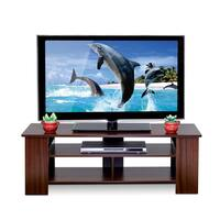 Furinno Boyate Brown MDF TV Entertainment Stand with Walnut Finish