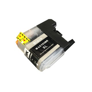 Think Crucial Black Replacement Toner Ink Cartridge for Brother LC-103XL Printers