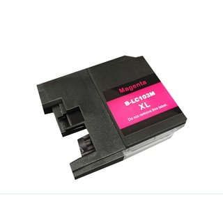 Replacement Magenta Brother LC-103XL Toner Ink Cartridge