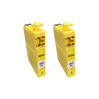 2PK Replacement Yellow Toner Ink Cartridge (Fits Epson 200 XL)