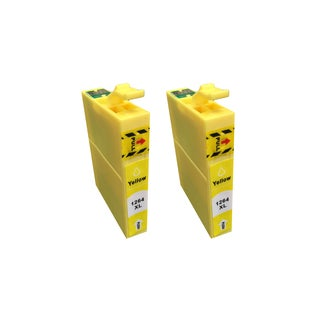126 Replacement Yellow Toner Ink Cartridge for Epson Printers (2-pack)