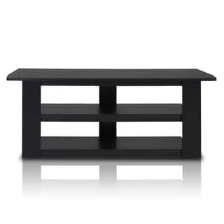 Furinno Parsons Black/Grey MDF 42-inch TV Entertainment Center|https://ak1.ostkcdn.com/images/products/12501475/P19309494.jpg?impolicy=medium