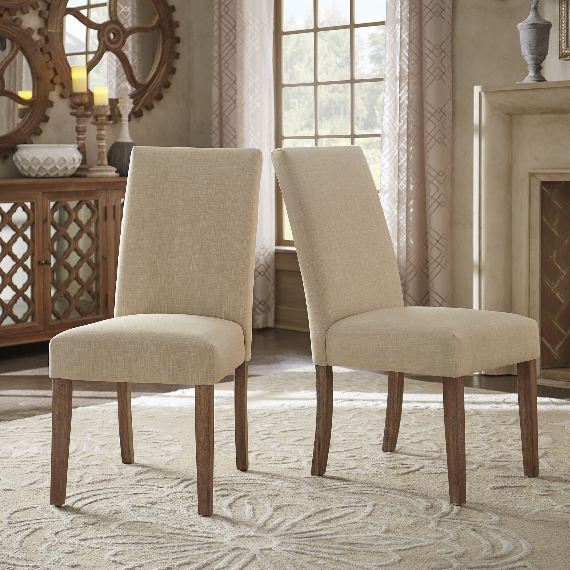 Potomac Slipcovered Parsons Dining Chairs (Set of 2) by i...