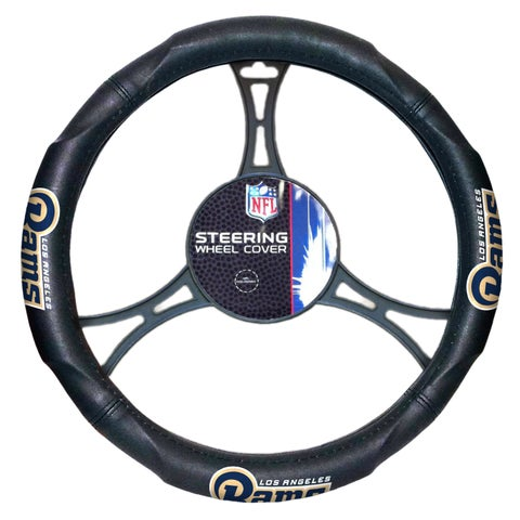 NFL 605 Rams Car Steering Wheel Cover