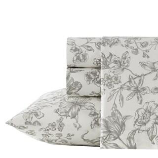 Wedgwood Vibrance Floral Cotton Sheet Set