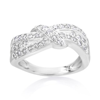 SummerRose 14k White Gold 5/8ct TDW Diamond Bands (More options available)