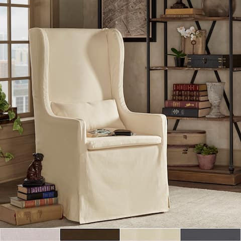 Potomac Wingback Host Chair by iNSPIRE Q Artisan