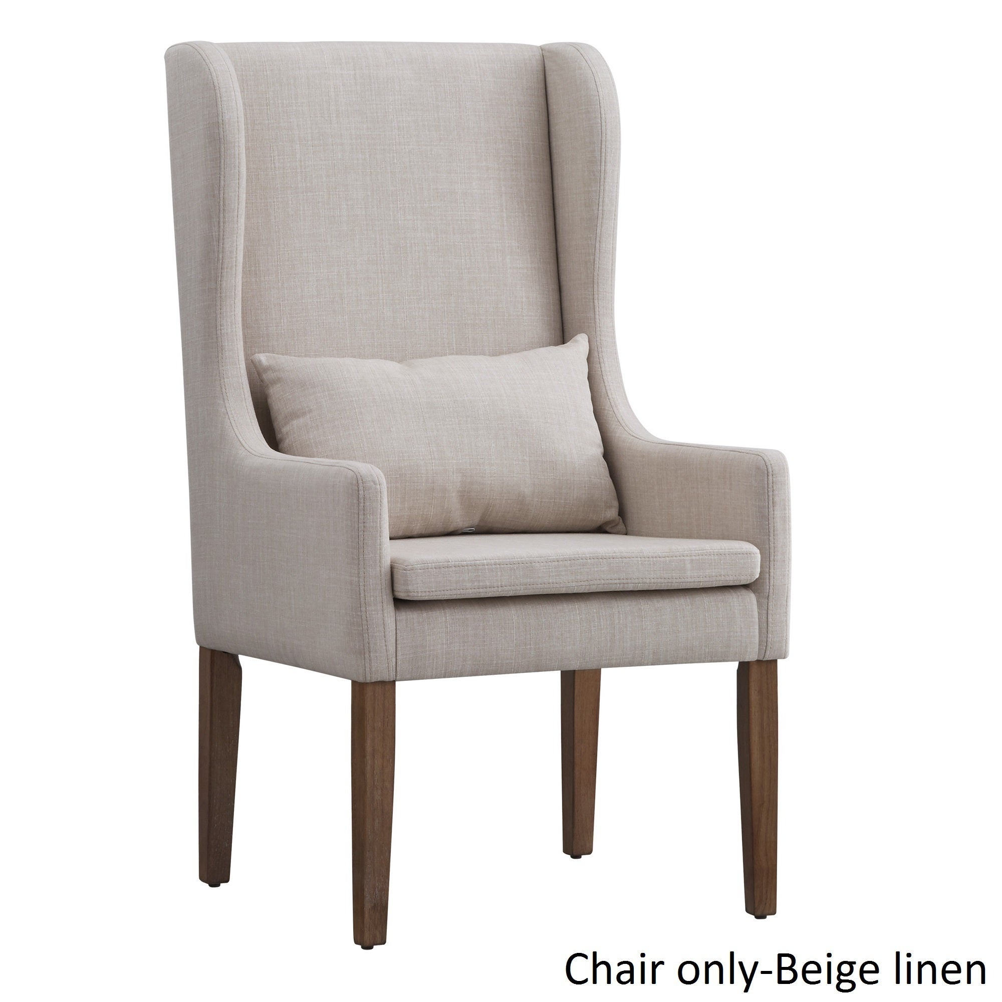 Potomac Slipcovered Wingback Host Chair by iNSPIRE Q Arti...