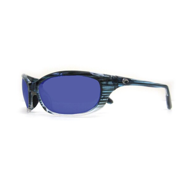 7d7531f285519 Shop Costa Del Mar HR.68.OBMGLP Sport Polarized Blue Mirror Wave 580 Glass  Sunglasses - Free Shipping Today - Overstock - 12502735