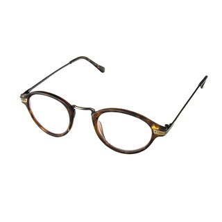 Hot Optix Unisex Plastic/Acrylic/Metal Round Reading Glasses (More options available)