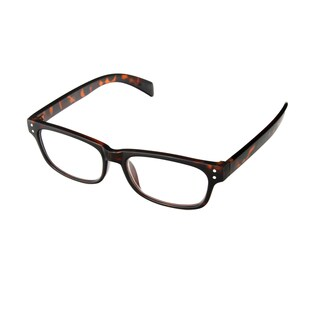 Hot Optix Unisex Trendy Plastic and Acrylic Square Reading Glasses