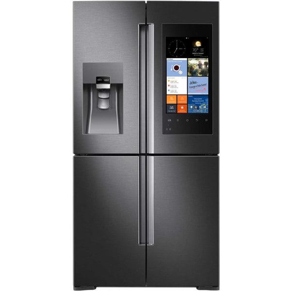 Samsung Black Stainless Steel 28 Cubic Foot 4 Door