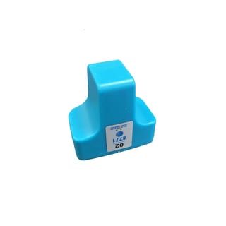 Replacement Cyan HP 02 Toner Ink Cartridge