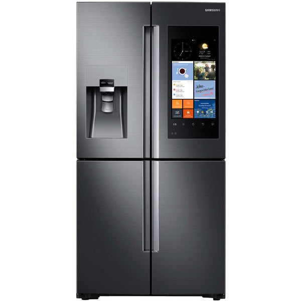 Shop Samsung Black Stainless Steel 22 Cubic Foot 4 Door