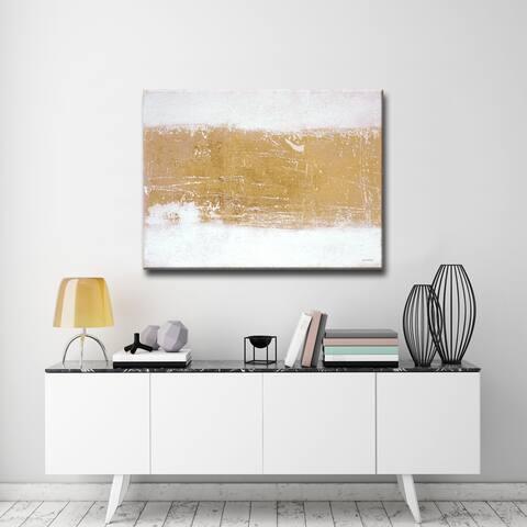 Shimmering Light I' by Norman Wyatt Jr. Wrapped Canvas Art
