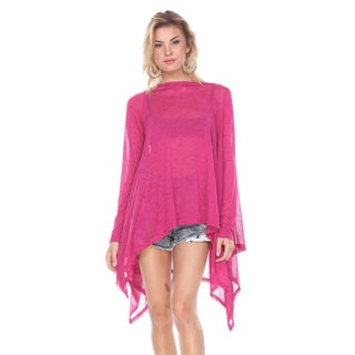 Stanzino Women's Polyester Bat-wing Tunic