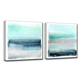 Havenside Home Linear Energy I/II' by Norman Wyatt Jr. Canvas Art (3 options available)