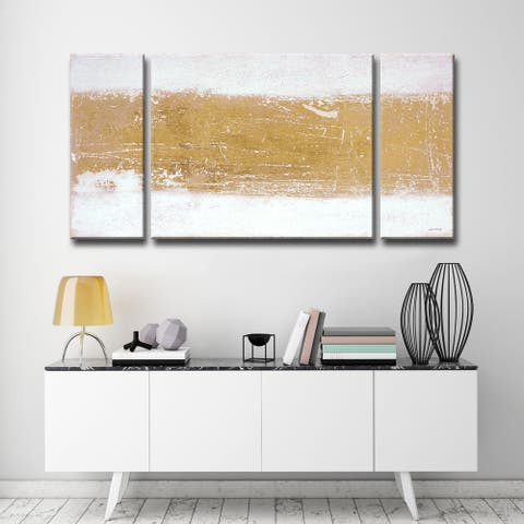 Shimmering Light' by Norman Wyatt Jr. 3-Piece Wrapped Canvas Wall Art