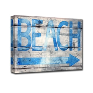 Ready2HangArt 'Beach that Way' by Norman Wyatt Jr. Canvas Art