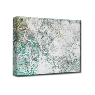 Ocean Current' by Norman Wyatt Jr. Wrapped Canvas Wall Art