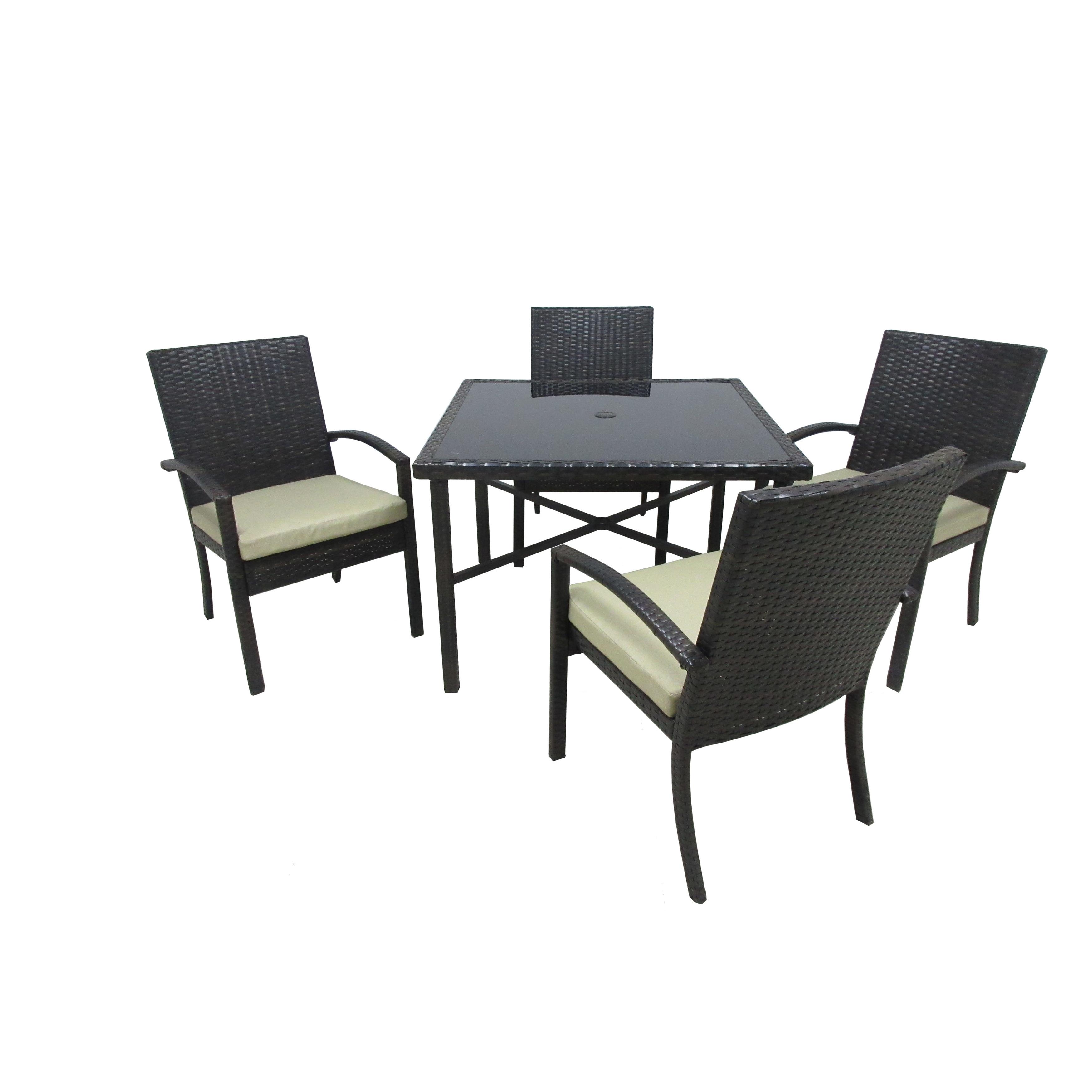International Chelsea 5-Piece Outdoor Patio Dining Set (B...