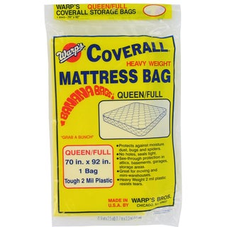 "Warps CB-70 70"" X 92"" Queen Or Full Mattress Bag"