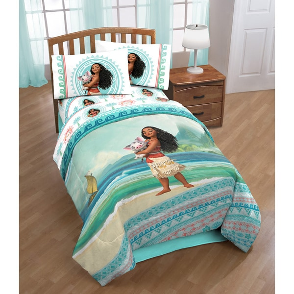Disneys Moana The Wave Twin 4 Piece Bed In A Bag Set