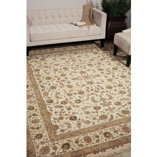 Nourison Royalty Ivory Area Rug (7'9 x 9'9)