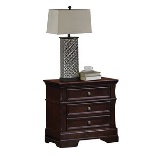 Coaster Company Cherry-finished Wood 2-drawer Nightstand