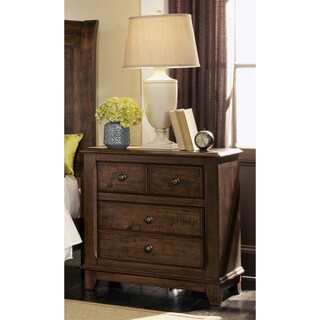 Coaster Brown Wood Nightstand