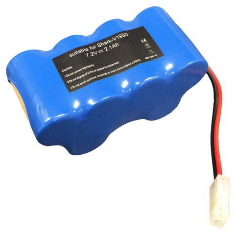 Replacement Battery, Fits Shark V1950 & VX3 Vacuums, Compatible with Part XB1918