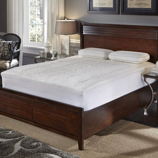 Quilted Euro Top 2.5-inch Memory Foam Topper