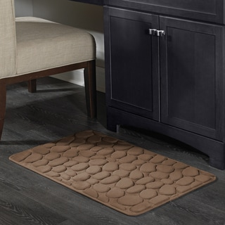 Amrapur Overseas Pebble Memory Foam Bath Mat
