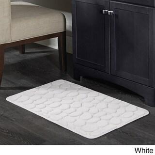 Pebble Memory Foam Bath Mat