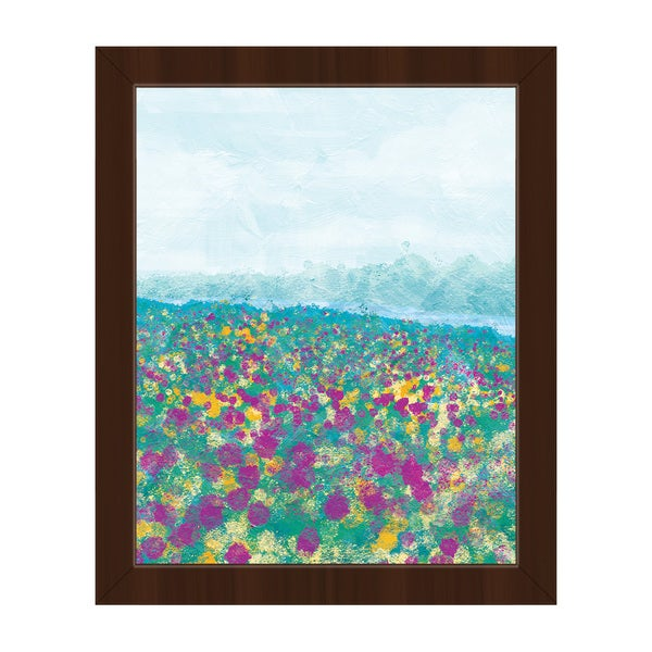 'Adagio Spring' Framed Canvas Wall Art