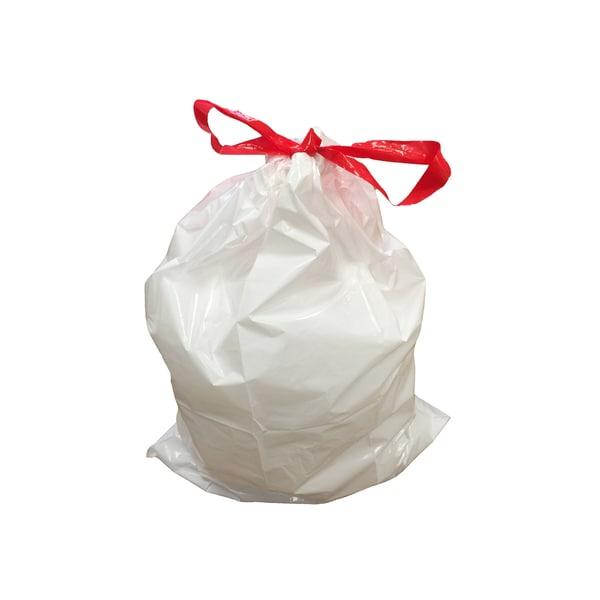 10pk Replacement Garbage Bags, Fits Simplehuman Trash Bins, 45L / 12-Gallon, Style-M
