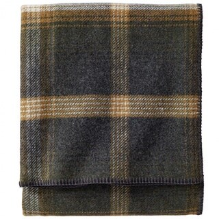 Pendleton Eco-wise Oxford Wool Plaid Blanket (2 options available)