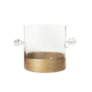 Gold Linen 9-inch Deep x 6-inch High Ice Bucket