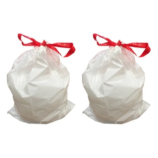 Crucial 12-gallon Garbage Bags for Simple Human Container (20-pack)