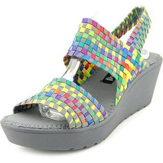 Steven Steve Madden Women's Brookln Multicolor Synthetic Sandals